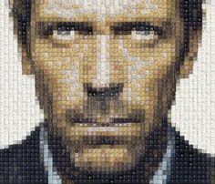 Australian Artist Creates Portraits Of Famous People Using ...