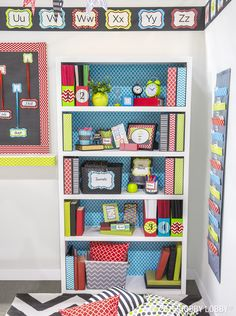 Give students a warm back-to-school welcome with bright and colorful decorations, learning tools and organizers.