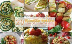 20 Ricette estive salate, facili e veloci, + 3 ricette dolci Fresh Rolls, Biscotti, Crackers, Potato Salad, 3, Potatoes, Mexican, Homemade, Chicken