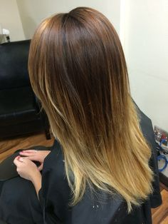 Balayage Ombre. Beauty By Allison. Fort Collins Hair. Salon Salon