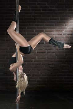 I really want to do pole fitness.... Not to be confused with pole dancing.