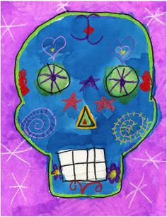 Art Projects for Kids: How to Draw a Skull