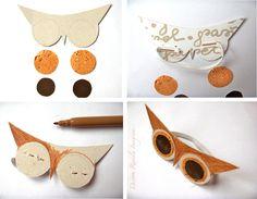 En otoño la naturaleza nos brinda un montón de materiales para hacer manualidades con niños. Os acordáis de la Familia Bellota ? Pues ahora...