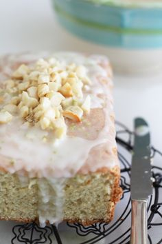 Bill Granger's lime coconut cake