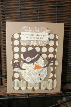 Handmade Christmas Card   http://creativehandmadecollections.blogspot.com