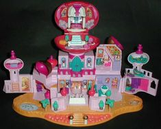 1995 Jasmine's Royal Palace Polly Pocket :: Mattel :: Disney Tiny Collection