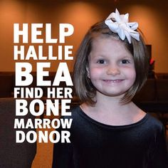 During her routine 12 month check-up, Hallie was diagnosed with Diamond Blackfan Anemia (DBA); one of the rarest forms of anemia in the world. To ensure Hallie received the best treatment her family relocated to Texas, so that she could be close to one of the 4 hospitals in the U.S. that have DBA specialists. Since her move, Hallie has seen remarkable progress and is now a happy and healthy 1st grader. However the ultimate cure for her disorder is a transplant. Get registered today! #DKMS