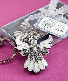 Angel design keychain favors  | hotref.com