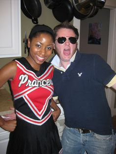 highschool sterotype theme party. Dress as what you were in highschool. Example- cheerleader/abercrombie douche/prep  i wanna go to a party like this soo bad!