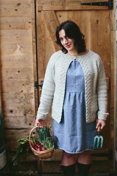 Ravelry: Callander Cardigan pattern by Joanne Scrace