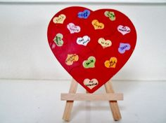 Valentine Jigsaw Puzzle Card Handpainted Hearts by paintingwhimsy, $3.50 https://www.etsy.com/treasury/MTA0OTA5MDh8MjcyMjk0MTc3Mw/baby-be-mine-in-the-new-year
