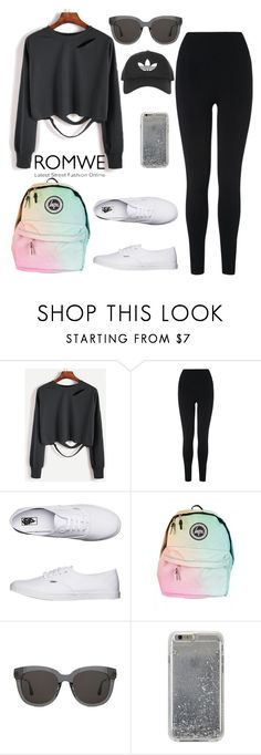 """Sport"" by liily-95 on Polyvore featuring moda, L.K.Bennett, Vans, Gentle Monster, Agent 18 y Topshop"