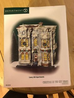 Department 56 Lowry Hill Apartments Christmas in the City Series, Brand new! Christmas In The City, Department 56, Apartments For Sale, Ebay