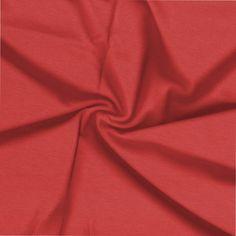 Malha Viscolycra com elastano Lisa Vermelho * Preço por metro
