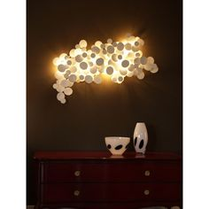 Pandore contemporary wall light