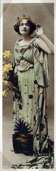 Actress Dorothea Baird in costume, c.1910