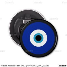 Sicilian Malocchio The Evil Eye Bottle Opener