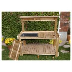 5.1' Uncut Pressure Treated Bench Planter Package