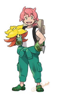 SWSH characters of the past by friedpotat Pokemon Comics, Pokemon Fan Art, Cute Pokemon, Pokemon Oc, Pokemon Fusion, Pokemon Cards, Pokemon Game Characters, Character Art, Character Design