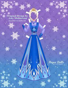 Disney Frozen #paperdolls 10 of 16 | by Cory Jensen.