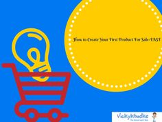 How to Create Your First Product For Sale-FAST