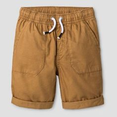 Toddler Boys' Pull-On Shorts Cat and Jack Casual Brown Boy's, Orange Gender: male. Boy Cat, Brown Shorts, Cat And Jack, Toddler Boys, Baby Boys, Baby Boy Outfits, Cats, Casual, Swimwear