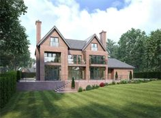 5 bedroom detached house for sale in 1 Burnthwaite Hall, Old Hall Lane, Lostock, Bolton, - Rightmove. Traditional Home Exteriors, Traditional House, Modern Traditional, Dream House Exterior, House Exteriors, House Goals, Life Goals, Property Design, House Floor Plans