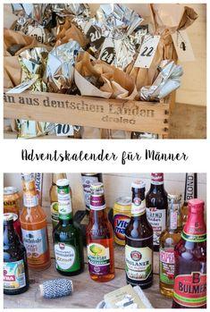 Bier Adventskalender selber basteln DIY Anleitung mit Free