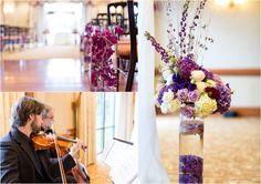 Maryland Wedding Photography {Turf Valley: Maryland Resort} Anna Grace Photography   Purple Details