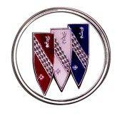 Buick car logo three shield logo from 1949 All Car Logos, Buick Cars, Shield Logo, All Cars, Automotive Industry, General Motors, Buick Logo, Family History, Needlepoint