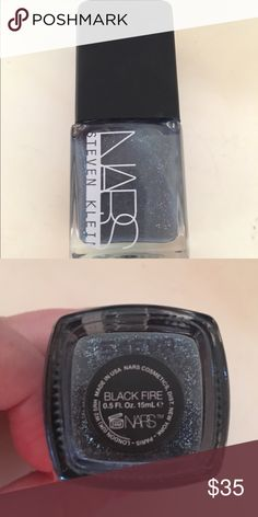 NARS Nail Polish LIMITED EDITION Black Fire NARS Black Fire nail polish. Limited edition! 2015 holiday polish. Never been used! NARS Other