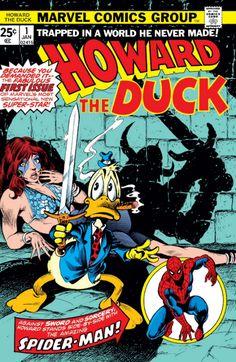 Howard The Duck #1 Cover Art by Frank Brunner
