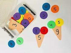 Using Math Games to Enhance Learning Math For Kids, Fun Math, Math Games, Preschool Activities, Preschool Learning, Teaching Math, 1st Grade Math, Math Classroom, Kids Education