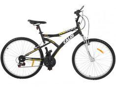 Bicicleta Caloi Andes Mountain Bike Aro 26 - 21 Marchas Suspensão Frontal Freio V-brake