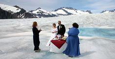 Glacier Wedding Alaska Destinations Vacations Cruise Port