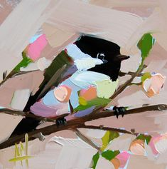 Hey, I found this really awesome Etsy listing at https://www.etsy.com/listing/220249383/chickadee-no-670-original-bird-oil