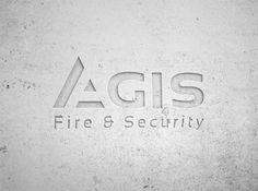 Agis Logo concrete Concrete, Fire, Logo, Paper, Projects, Log Projects, Logos, Blue Prints, Environmental Print