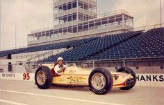 Indy 500 winner 1957: Sam Hanks  Starting Position: 13  Race Time: 3:41:14.250  Chassis/engine: Salih/Offy