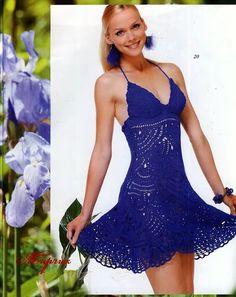 Edivana Croche: Lindo Vestido Verão!!