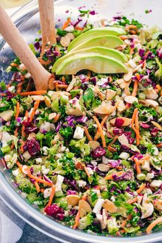 Detox Kale Salad. Just Say Yum. Reset and re-charge with this detox salad packed full of glowing ingredients and nutrients. All the salad you will need to get back on track and it tastes amazing.
