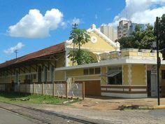 FOTOS DE ANDRADINA: Antiga Estação Ferroviária de Andradina