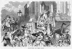 Cuando el caos se apoderaba de la ciudad de Nueva York cada 1 de mayo - Cuaderno de Historias