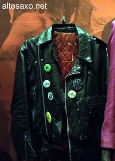 Joan Jett's jacket for the 'I Love Rock 'N Roll' music video, displayed at the Rock and Roll Hall of Fame Museum Rock N Roll Music, Rock And Roll, Music Museum, Joan Jett, Love Rocks, Queen, Jacket, My Love, Rock Roll