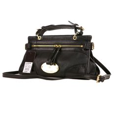 Mulberry Women's Small Taylor Satchel Bag Black £151.99 Save: 72% off