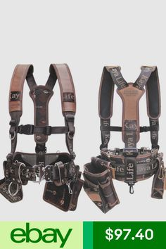 Kaya Tool Bags, Belts & Pouches Home & Garden Carpenter Tool Bags, Best Tool Belt, Tool Belt Suspenders, Firefighter Tools, Nail Bags, Tool Belt Pouch, Work Belt, Diy Bags Purses, Work Tools