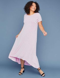 b9043e9a062a Caged-Back Maxi Dress · Lane BryantCage