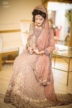 Pakistani dulhan dress 2018 summer