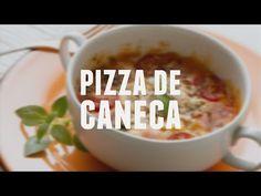 Pizza de caneca | Receitas Saudáveis - Lucilia Diniz - YouTube