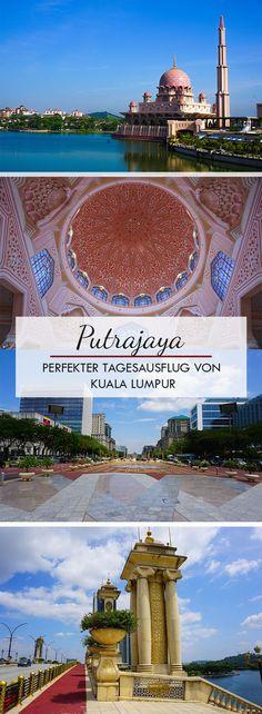 Putrajaya ist eine Planstadt in Malaysia und befindet sich nicht weit von der Hauptstadt Kuala Lumpur entfernt. Aufgrund dieser Distanz eignet sich die Stadt hervorragend für einen kleinen Tagesausflug. In diesem Beitrag findest du alle spannenden Sehenswürdigkeiten und notwendigen Tipps für die Planstadt.   Putra Mosque, Die eiserene Moschee, Anreise, Things to dos