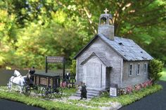 Church In The Wildwood  ~ Model Train Buildings